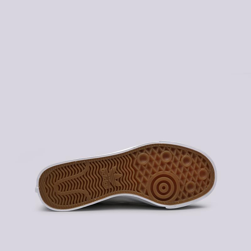 женские белые  кроссовки adidas nizza slipon w CQ3103 - цена, описание, фото 2
