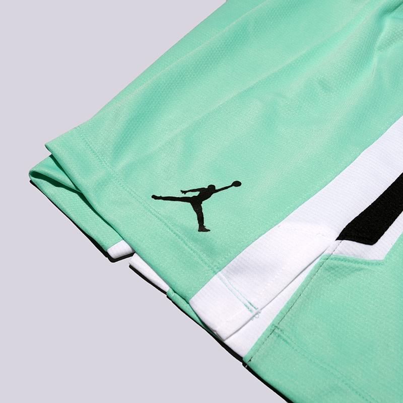 Купить мужские голубые  шорты jordan flight в магазинах Streetball изображение - 3 картинки