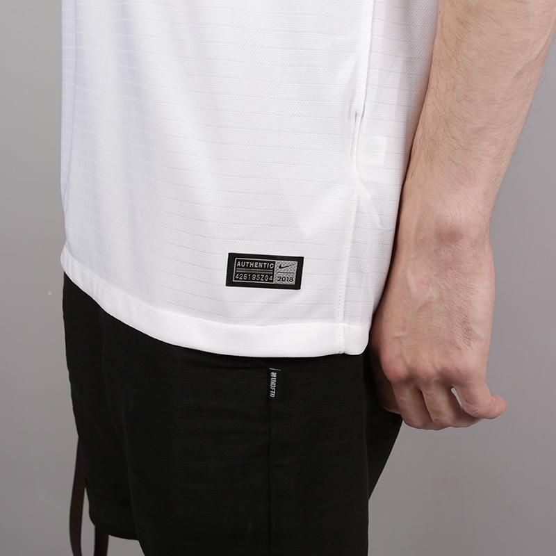 мужскую белую  футболка nike england home 893868-100 - цена, описание, фото 4