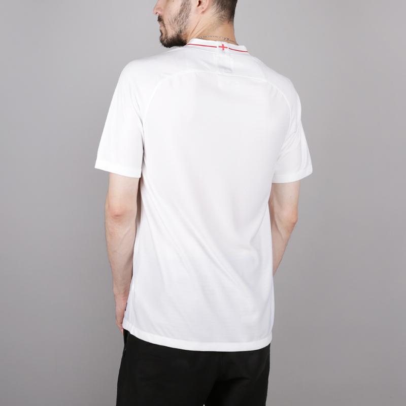мужскую белую  футболка nike england home 893868-100 - цена, описание, фото 5