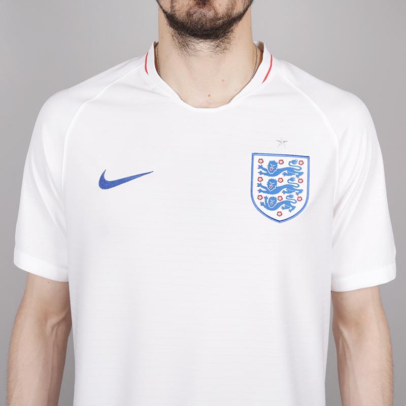 мужскую белую  футболка nike england home 893868-100 - цена, описание, фото 2