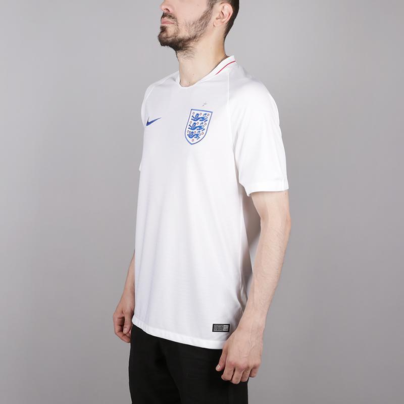 мужскую белую  футболка nike england home 893868-100 - цена, описание, фото 3