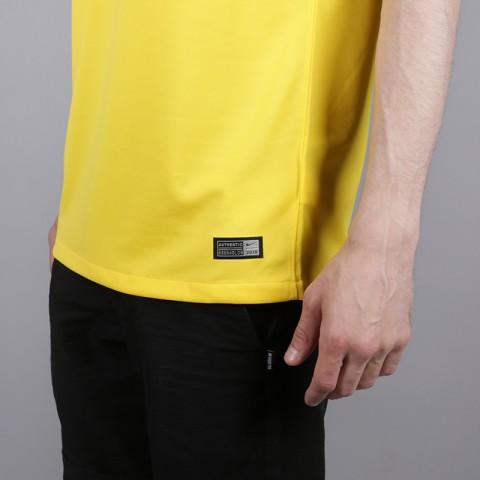 мужскую жёлтую  футболка nike brasil 893856-749 - цена, описание, фото 4