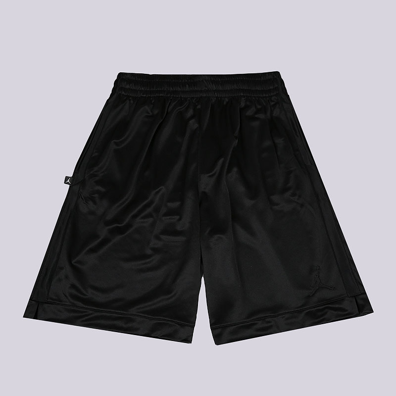 мужские черные  шорты jordan shimmer men's basketball shorts AJ1122-011 - цена, описание, фото 1