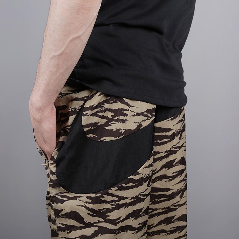 мужские камуфляж  шорты nike all over print AO1116-235 - цена, описание, фото 4