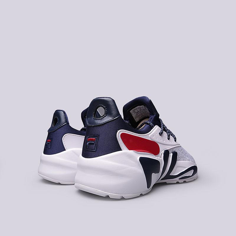 51d8c74f мужские белые, синие, серые кроссовки fila mindbreaker 1RM00123-125 - цена,  описание
