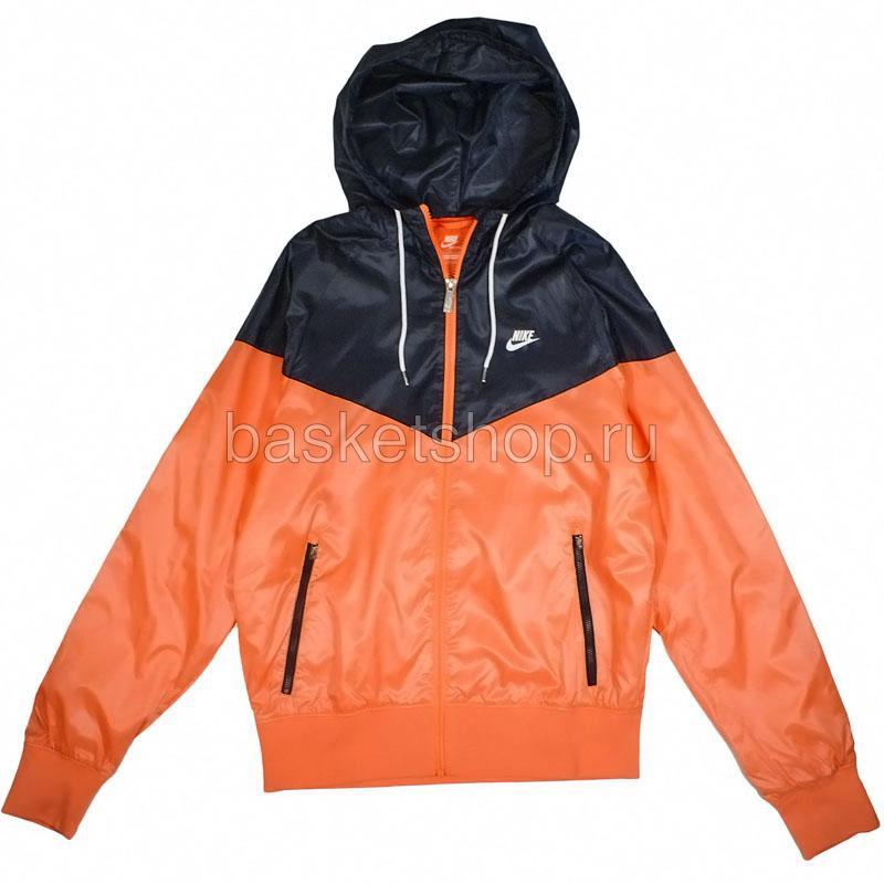 7486ed14 мужскую оранжевую, синюю ветровка the windrunner 340869-841 - цена,  описание, фото