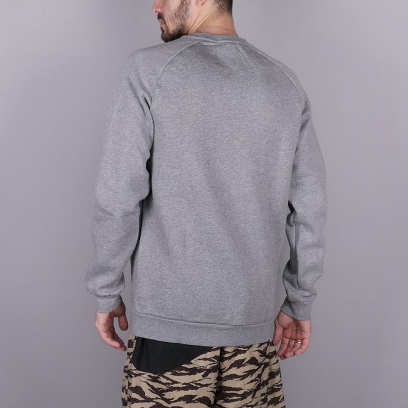 мужскую серую  толстовка jordan jumpman fleece 940170-091 - цена, описание, фото 4