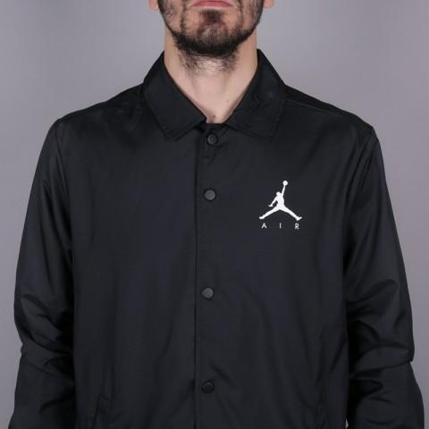badbdde07f0f30 ... фото мужскую чёрную куртку jordan jumpman coach jacket 939966-010 -  цена