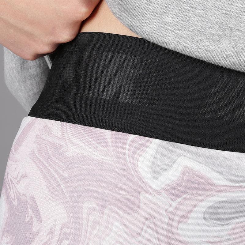 женские розовые  леггинсы nike leg-a-see women's leggings AH6499-694 - цена, описание, фото 4