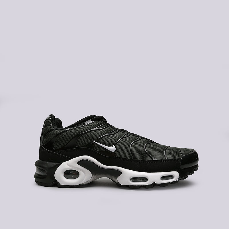 d74662e9 мужские черные, зеленые кроссовки nike air max plus 852630-031 - цена,  описание