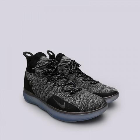 мужские серые  кроссовки nike zoom kd11 AO2604-004 - цена, описание, фото 3