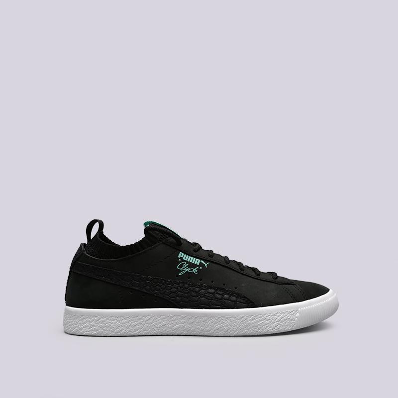 8098be5b7f39 мужские чёрные кроссовки puma clyde sock lo diamond 36565301 - цена,  описание, фото 1