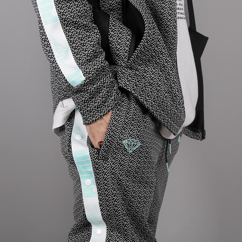 мужские чёрные  брюки puma x diamond 57536101 - цена, описание, фото 5