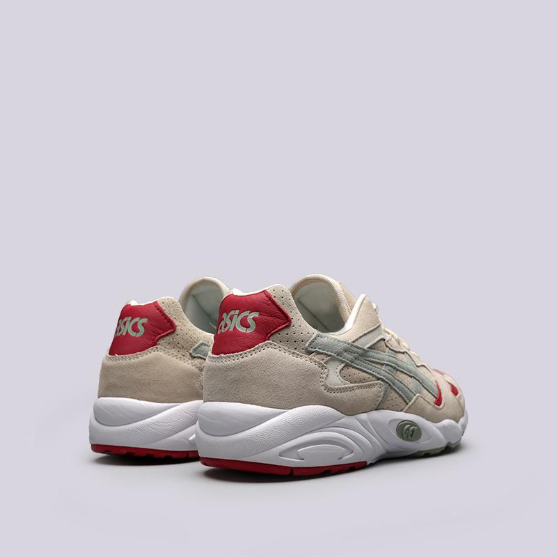Купить мужские бежевые  кроссовки asics tiger gel-diablo в магазинах Streetball изображение - 4 картинки