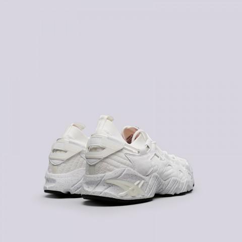 мужские белые  кроссовки asics tiger gel-mai knit H8P2N-0101 - цена, описание, фото 4