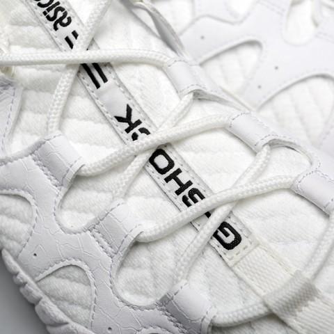 мужские белые  кроссовки asics tiger gel-mai knit H8P2N-0101 - цена, описание, фото 5