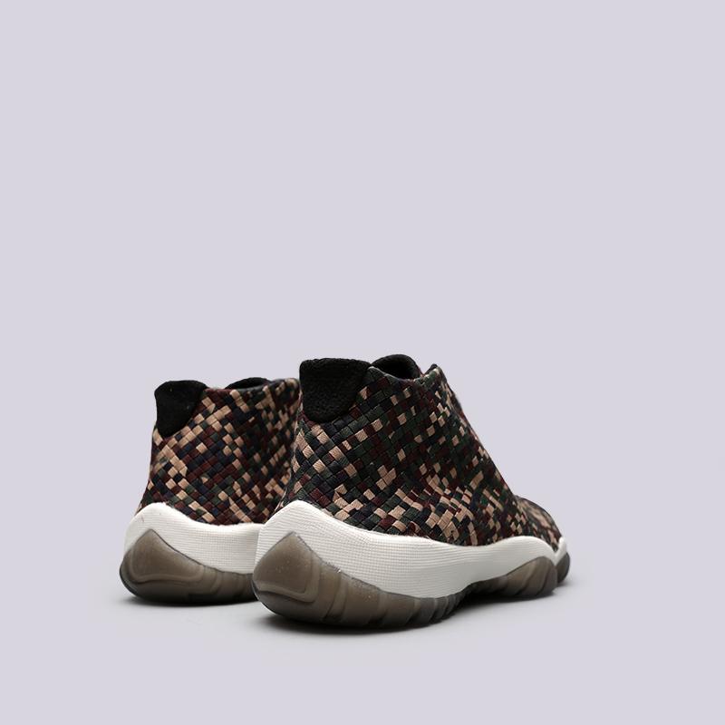Купить мужские камуфляж  кроссовки jordan future premium в магазинах Streetball изображение - 4 картинки
