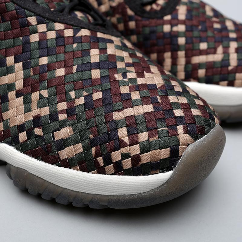 Купить мужские камуфляж  кроссовки jordan future premium в магазинах Streetball изображение - 5 картинки