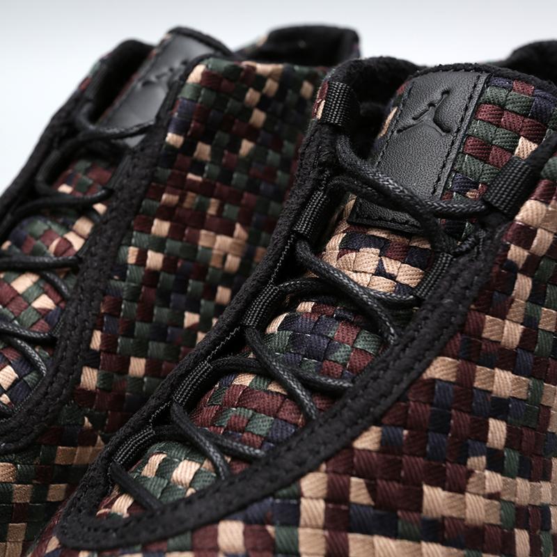 Купить мужские камуфляж  кроссовки jordan future premium в магазинах Streetball изображение - 6 картинки