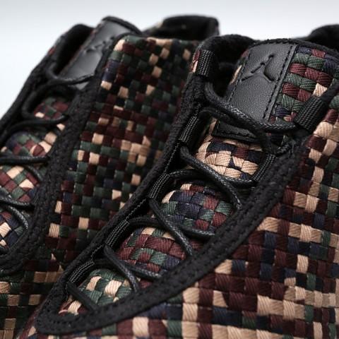 Купить мужские камуфляж  кроссовки jordan future premium в магазинах Streetball - изображение 6 картинки