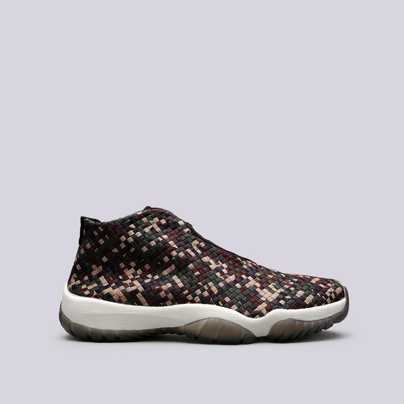 Купить мужские камуфляж  кроссовки jordan future premium в магазинах Streetball изображение - 1 картинки