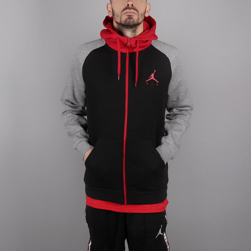 Толстовка Jordan Jumpman Fleece Full-Zip 939998-011