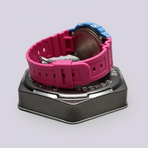 голубые, розовые  часы casio g-shock dw-5600tb DW-5600TB-4B - цена, описание, фото 3