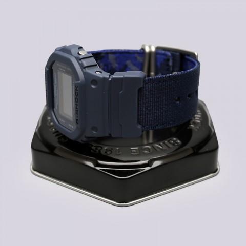 синие  часы casio g-shock dw-5600lu DW-5600LU-2E - цена, описание, фото 2