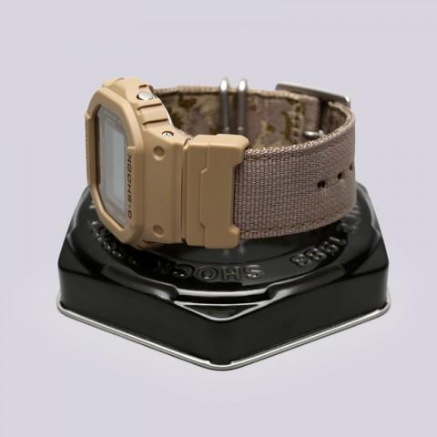 бежевые  часы casio g-shock dw-5600lu DW-5600LU-8E - цена, описание, фото 2