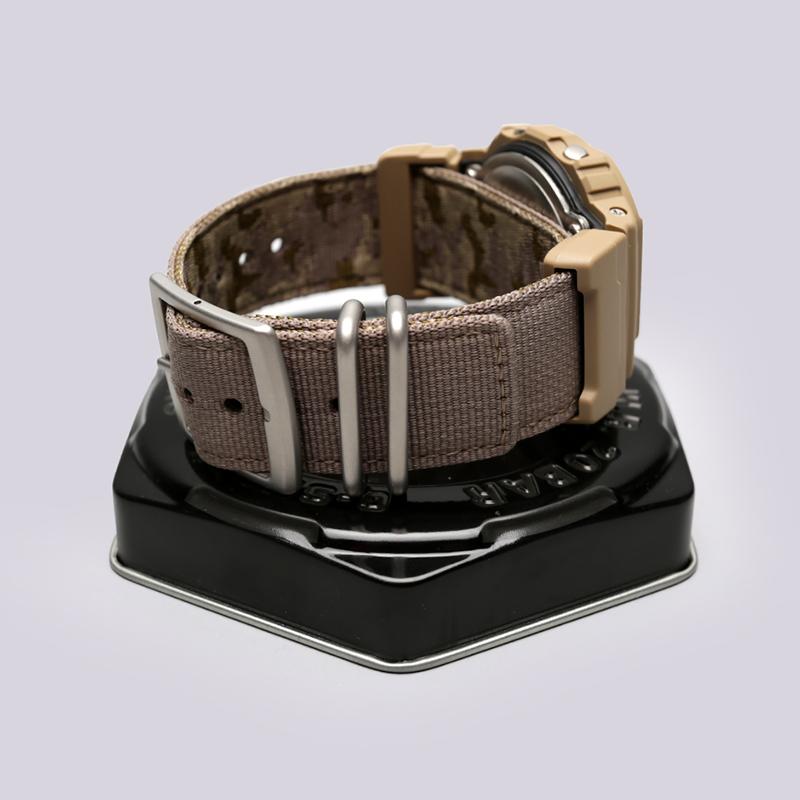 бежевые  часы casio g-shock dw-5600lu DW-5600LU-8E - цена, описание, фото 3