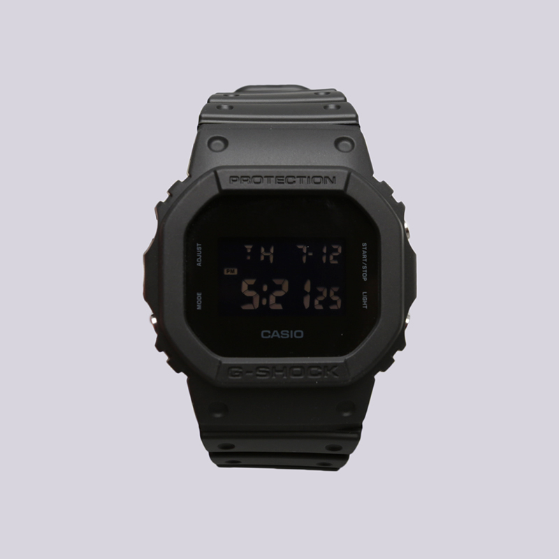 чёрные  часы casio g-shock dw-5600bb DW-5600BB-1E - цена, описание, фото 1