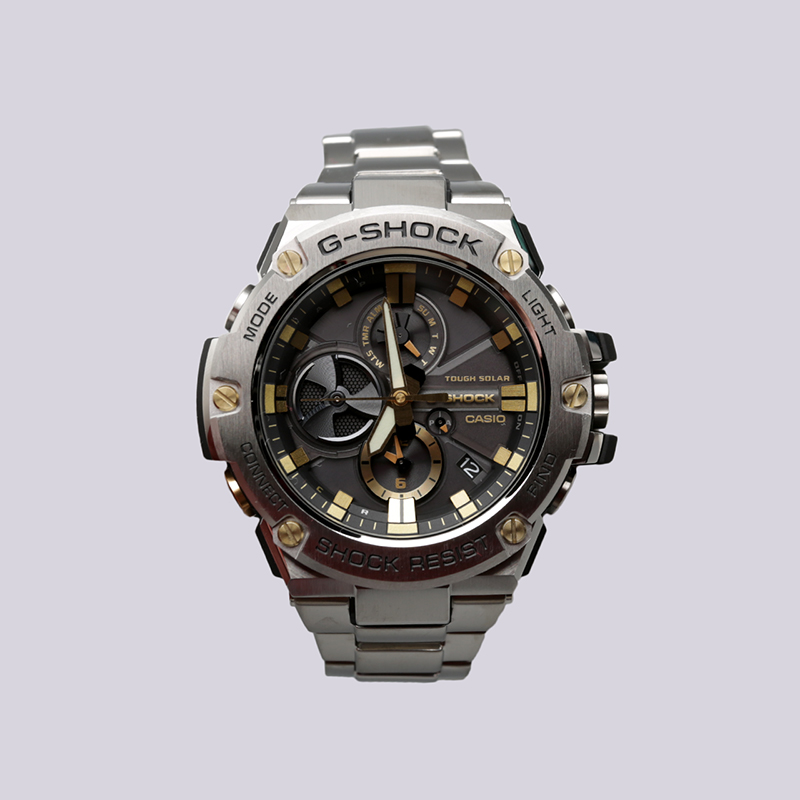 металл  часы casio g-shock gst-b100d GST-B100D-1A9 - цена, описание, фото 1