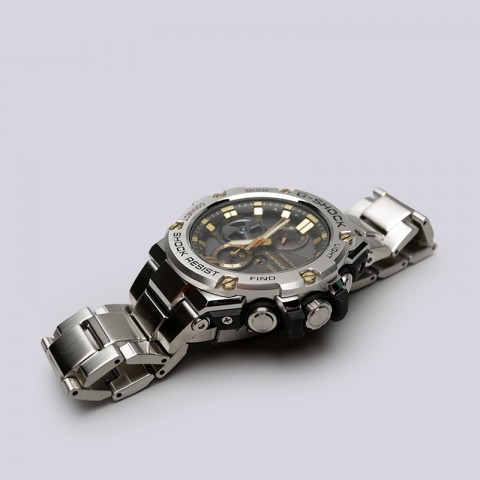 металл  часы casio g-shock gst-b100d GST-B100D-1A9 - цена, описание, фото 2