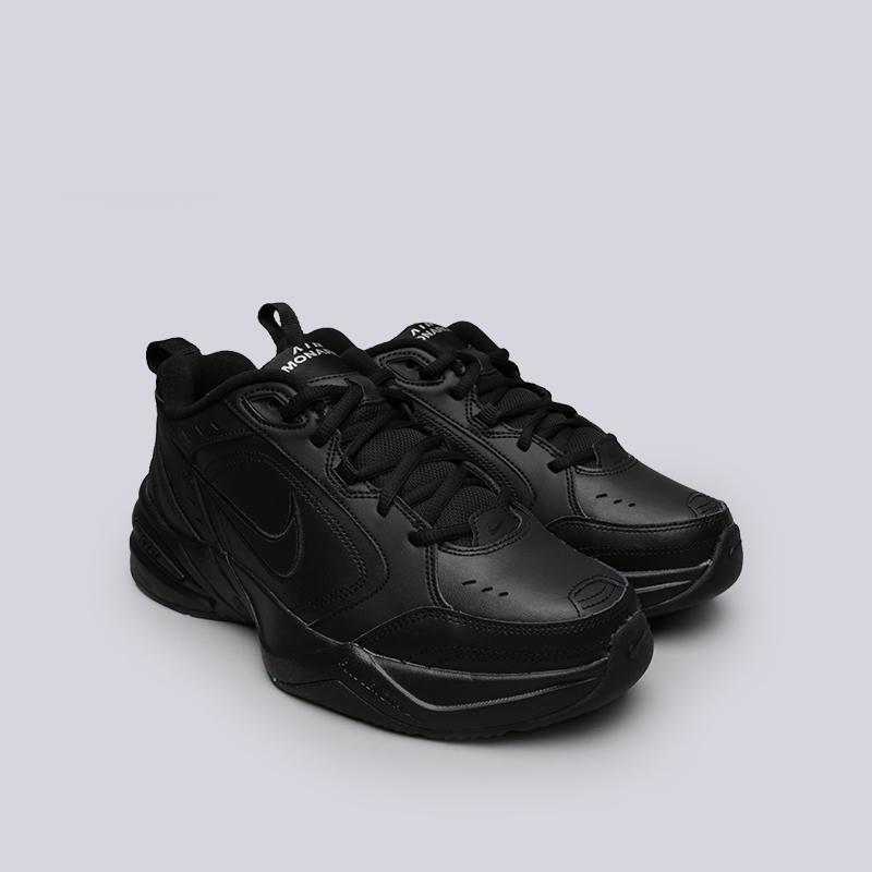 2f78ed06 мужские чёрные кроссовки nike air monarch iv 415445-001 - цена, описание,  фото