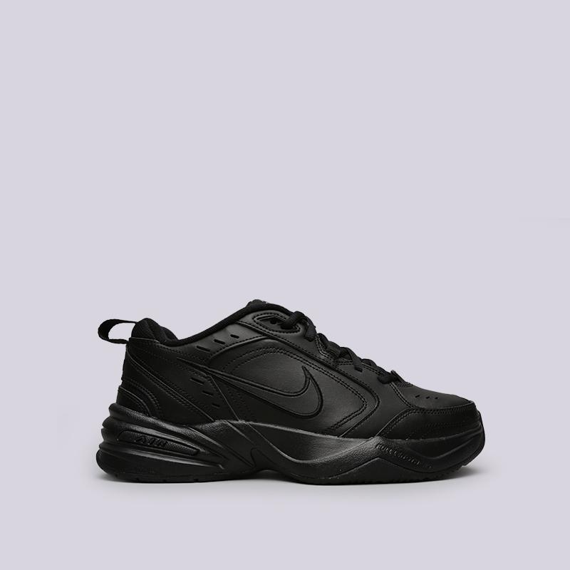 f872665b мужские чёрные кроссовки nike air monarch iv 415445-001 - цена, описание,  фото