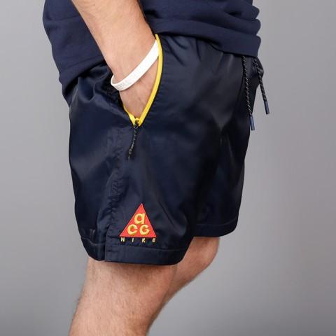 мужские синие  шорты nike acg short AO8272-451 - цена, описание, фото 3