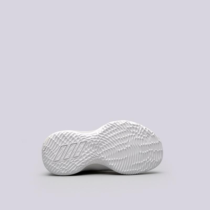 детские белые  кроссовки adidas rise up 2 k DB1671 - цена, описание, фото 2