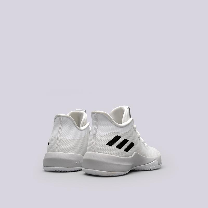 детские белые  кроссовки adidas rise up 2 k DB1671 - цена, описание, фото 4