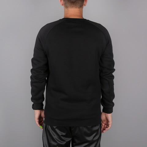 мужскую чёрную  толстовка jordan jumpman air fleece 940170-010 - цена, описание, фото 4
