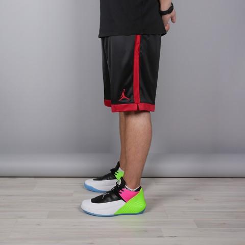мужские чёрные  шорты jordan shimmer AJ1122-010 - цена, описание, фото 3