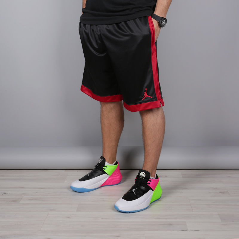 мужские чёрные  шорты jordan shimmer AJ1122-010 - цена, описание, фото 1