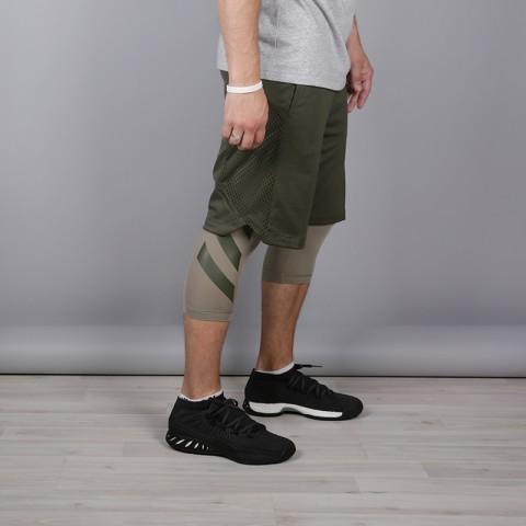 мужские зелёные  шорты adidas elec 2/1 short CE8746 - цена, описание, фото 3