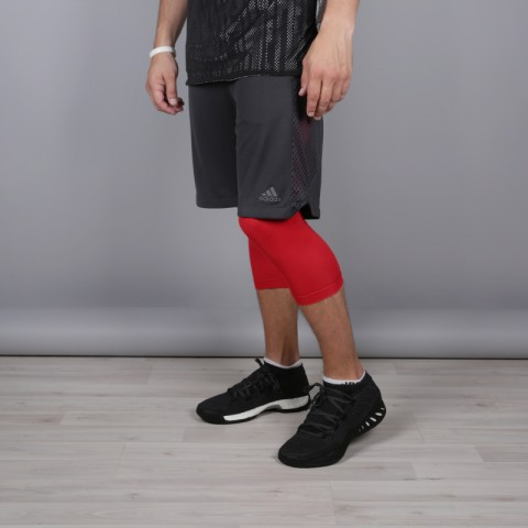 мужские серые  шорты adidas elec 2/1 short CE8743 - цена, описание, фото 2