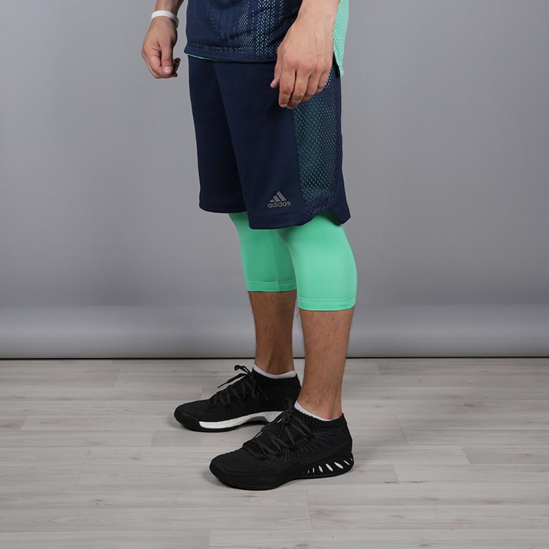 мужские синие  шорты adidas elec 2/1 short CE7001 - цена, описание, фото 2