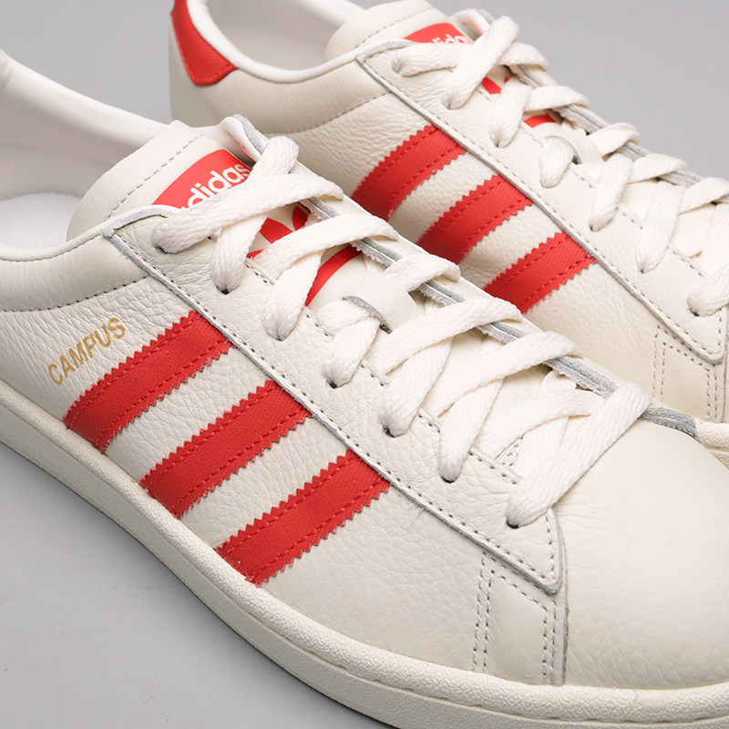 мужские бежевые  кроссовки adidas campus CQ2069 - цена, описание, фото 3