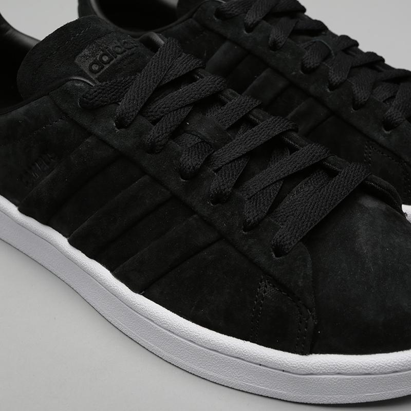 мужские чёрные  кроссовки adidas campus stitch and turn BB6745 - цена, описание, фото 5