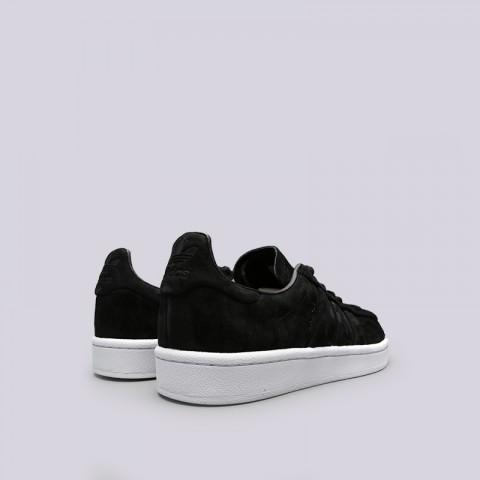 мужские чёрные  кроссовки adidas campus stitch and turn BB6745 - цена, описание, фото 4