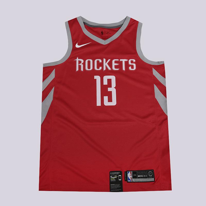 san francisco 28419 de6a7 Мужская майка NBA Houston Rockets James Harden Swingman Jersey от Nike  (864477-657) купить по цене 3590 руб. в интернет-магазине Streetball