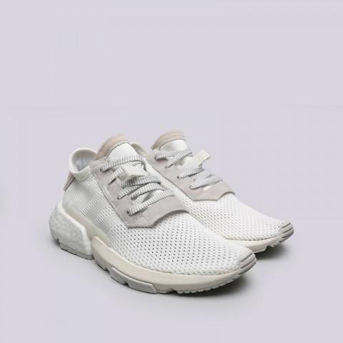 мужские белые  кроссовки adidas pod-s3.1 B28089 - цена, описание, фото 3
